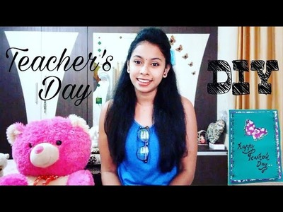 Teacher's day special. DIY teacher's day card