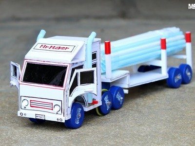 Wow! Amazing truck container - DIY at home