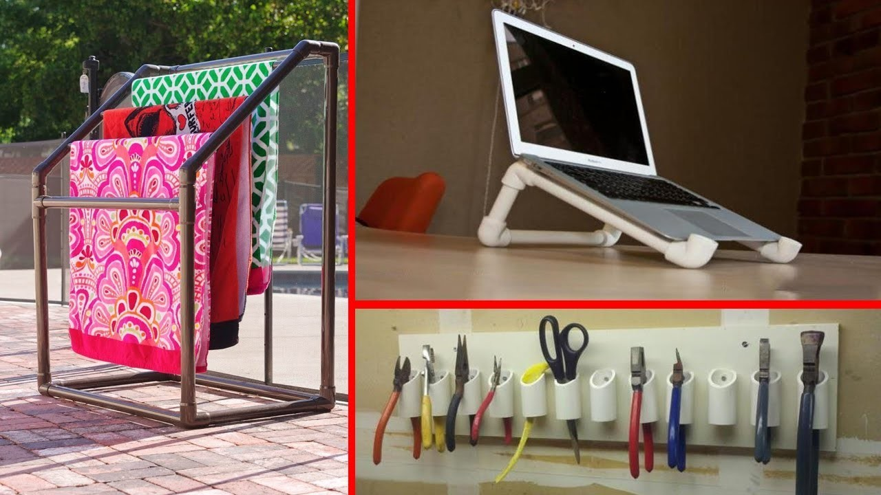 50 awesome diy projects using pvc pipe great ideas with for Pvc pipe projects ideas