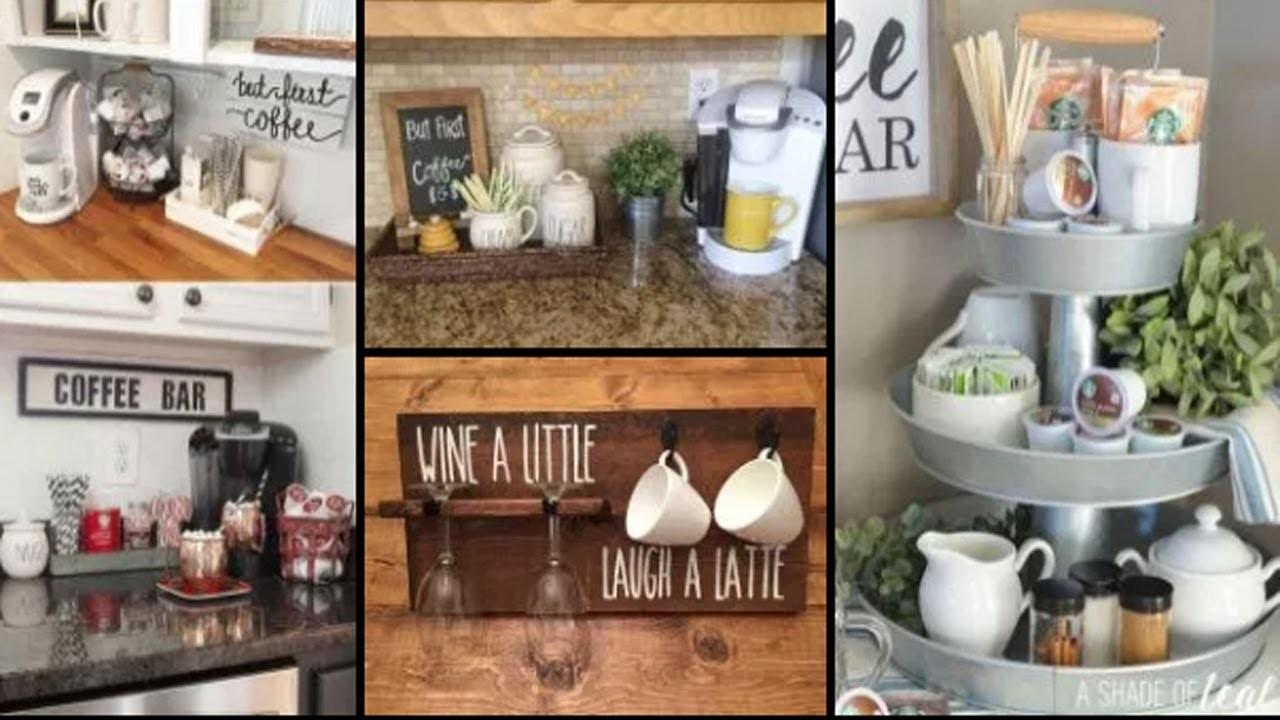75 Home Coffee Bar Design And Decor Ideas Diy Kitchen Storage Organization