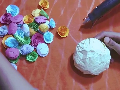 Bunch of Flowers | PAPER FLOWER BOUQUET TUTORIAL EASY STEP BY STEP | Teachers Day Special Flowers