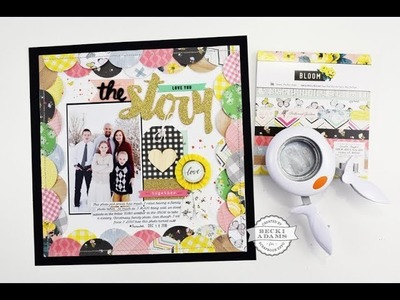 Creative Scrapbooking with 6x6 Paper Pads Workshop by Becki Adams