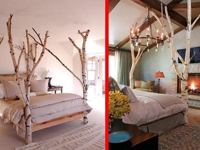 Creative Tree Branches Decor Ideas | DIY Branch Tree House Interior Decoration Ideas 2017