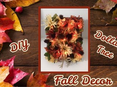 DIY Autumn Dollar Tree Floral Decor