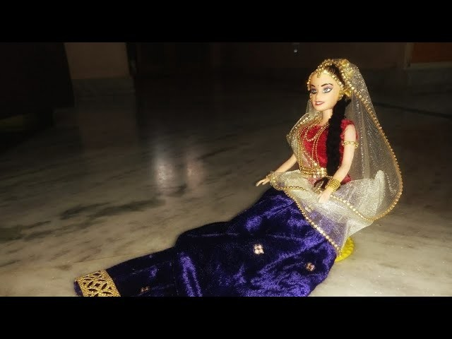 DIY Barbie doll decoration