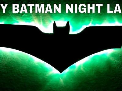 DIY BATMAN NIGHT LAMP | BATMAN LOGO LAMP | DIY AND CHEAP NIGHT LAMP | BATMAN LOGO | BATMAN | LAMP |