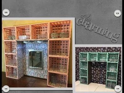 DIY Dollar Tree.Walmart Desk or Dresser Hutch.Vanity