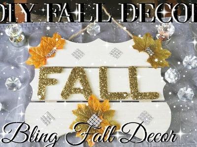 DIY FALL DECOR 2017   DOLLAR STORE DIY FALL DECOR   DIY HOME DECOR IDEAS ????
