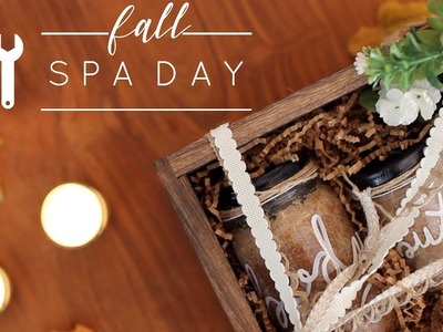 DIY Fall Spa Day | 3 Cheap and Easy Pumpkin Spice Spa Day Recipes