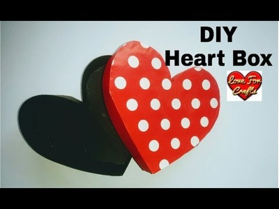 DIY - Heart Box | How to Make Paper Heart Box