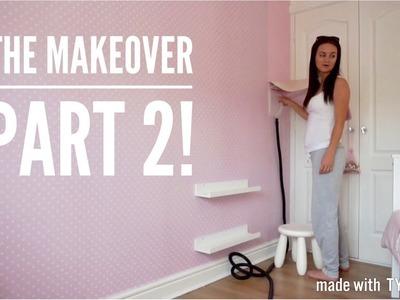 DIY HOME DECOR | MAKEOVER SERIES | GIRLS BEDROOM | CARLY JADE DRAKE