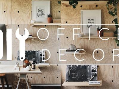 DIY Office Decor Tips + Tricks!