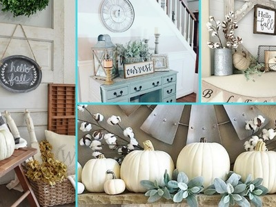 ❤ DIY Rustic Shabby Chic Style Fall decor Ideas ❤ | Home decor & Interior design | Flamingo Mango
