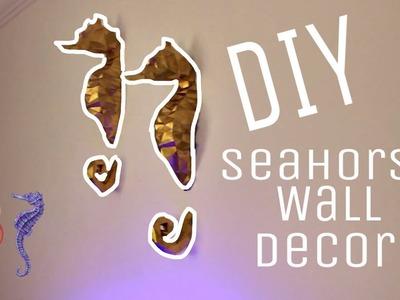 DIY SEAHORSE WALL DECOR w. Laith