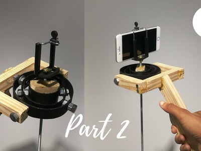 DIY Stabilizer Gimbal for Action Camera. Smartphone   Part 2