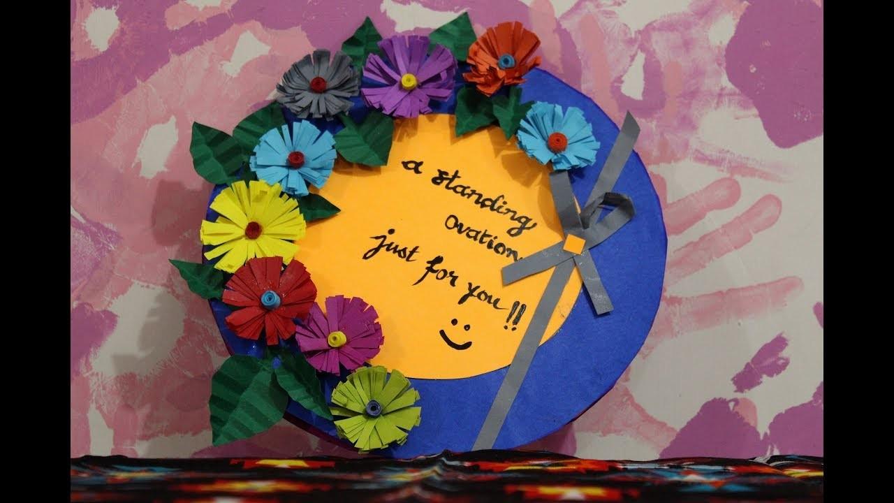 Diy Teachers Day Card Making Idea Ft Ranji Raj Nair Handmade