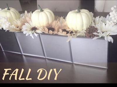 DOLLAR TREE DIY | FALL CENTERPIECE
