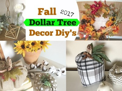 Dollar Tree Diy's Fall Decor Ideas ????Momma From Scratch