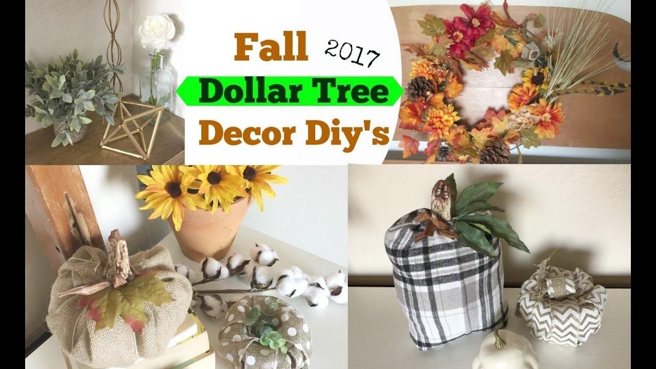 Dollar Tree Diy's Fall Decor Ideas ????Momma From Scratch