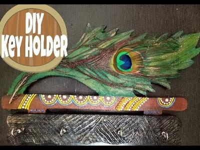 Easy DIY Wall Key Holder I Handmade key holderI BY CRAFTARENA