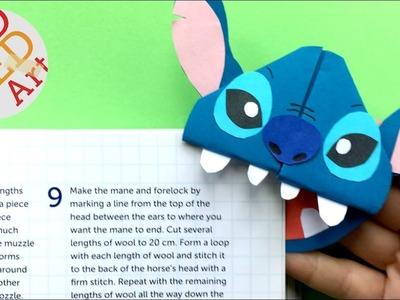 Easy Stitch Bookmark Corner DIY  - Cute Bookmark Ides -  Easy Stitch DIY