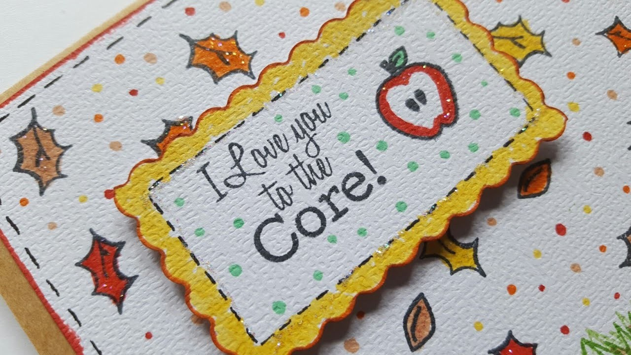 FALL GREETING CARD | PAPER CRAFTING | MAYMAY MADE IT DESIGN TEAM