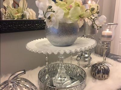Glam.Bling DIY Wedding Cake Stand