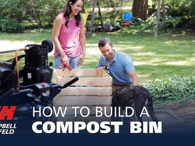 How to Build a DIY Compost Bin in Four Easy Steps