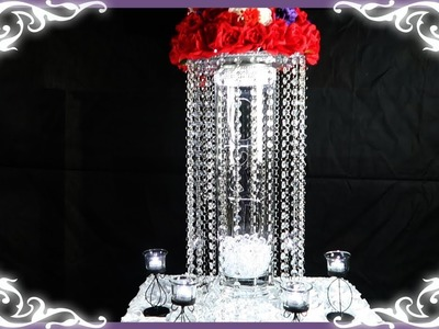 How to Make A DIY Table Riser with Acrylic Letters For Wedding or Special Event