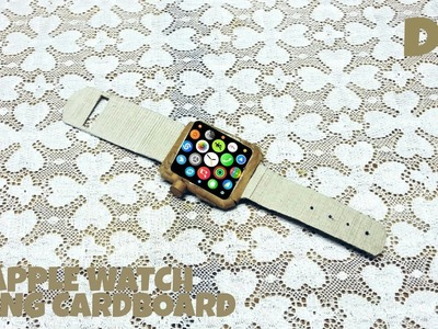 How to make Apple watch using cardboard | APPLE | DIY | CARDBOARD |  HOW TO | KMA INSANE HACKER