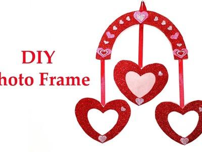 How to make Photo Frame | DIY Heart Photo Frame