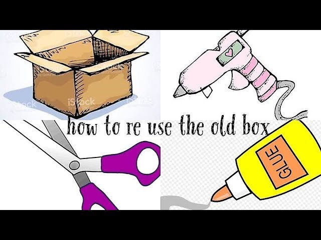 How to recycle an old box.DIY Cosmetic Organizer.Make up Organizer