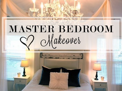 Master Bedroom Makeover | DIY Shabby Chic Update