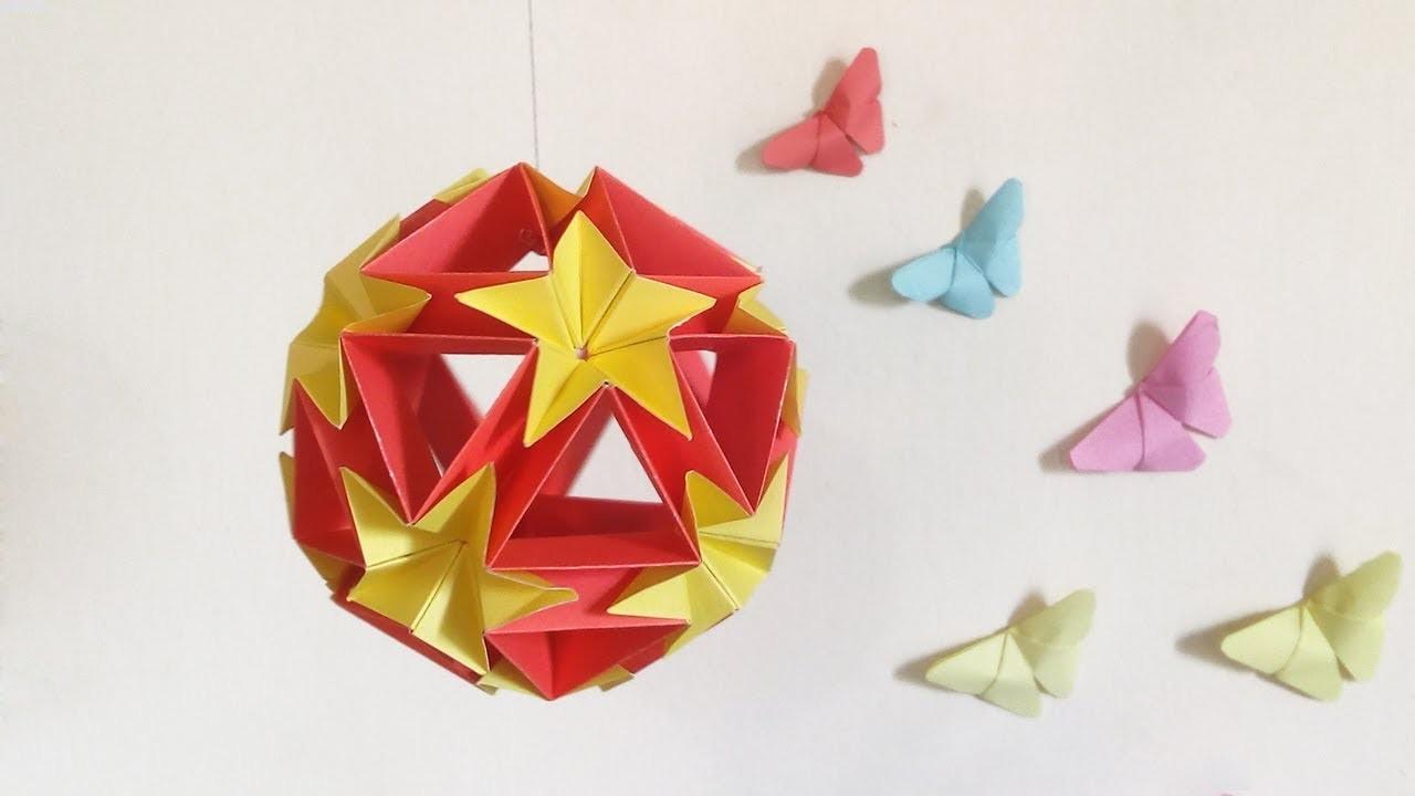 kusudama origami kusudama cookiecutter easy modular