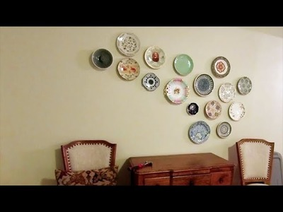 Showstopping DIY Plate Wall