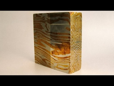 121 Polymer clay tutorial - Mokume gane part 1 - short history and color theory