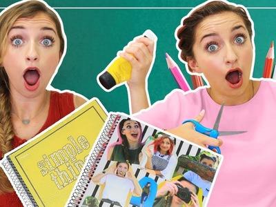 3 DIY School Notebook Design Ideas | Back to School 2017