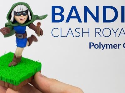 Bandit (Clash Royale) – Polymer Clay Tutorial
