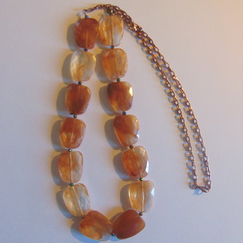 Caramel Statement Necklace
