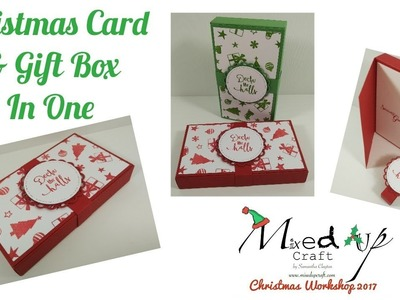 Christmas Card & Gift Box in One | Video Tutorial