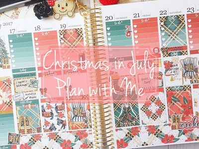 Christmas in July Plan with Me Collab with NikkiPlusThree