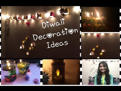Diwali decoration ideas||DIY||Home decor|| festive decor||soumya dubey||2017