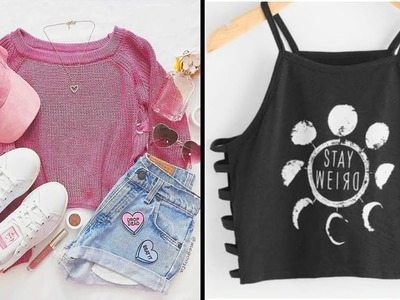 DIY Clothes Life Hacks! 15 Easy Crafts Ideas for Girls! How to Make your Clothes New Again
