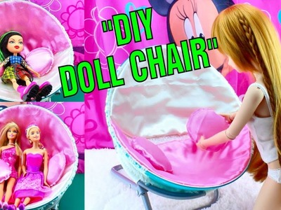 ???? DIY DOLL CHAIR for Smart Doll and BJDs. DarlingDolls Doll Craft