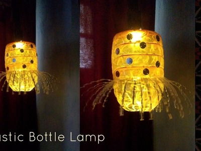 DIY II  How to make Hanging Lamp from waste Plastic bottle