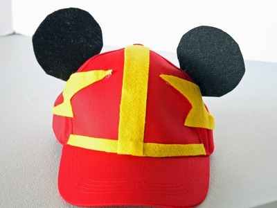 DIY Mickey & the Roadster Racers Hat