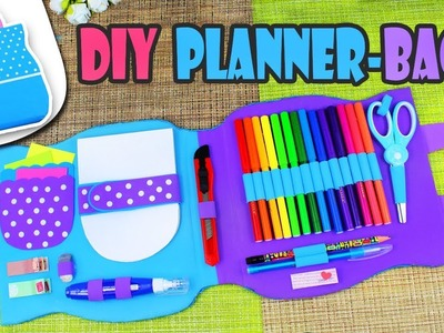 DIY ORGANIZER BAG MULTI PLANNER TUTORIAL STEP BY STEP