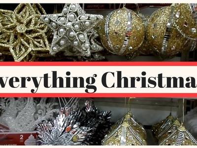 Dollar Tree Walk-Thru Haul #47 - 2017 New Christmas Ornaments