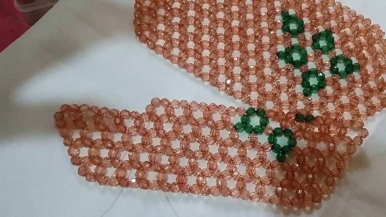 How to Bead a Big Pouch Part 3