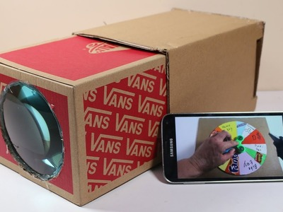 How To Build Simple Smartphone Projector DIY